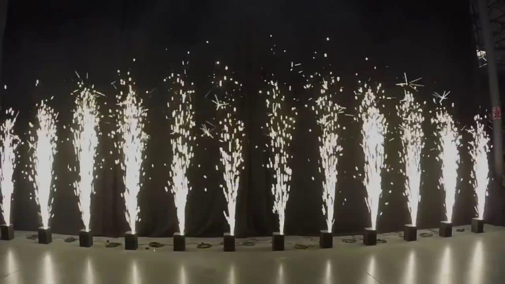 Spark Machines - Indoor firework fountain Prestige Sound & Light